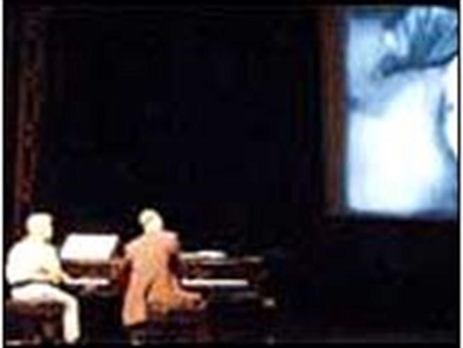 İki piyano ve bir sessiz film